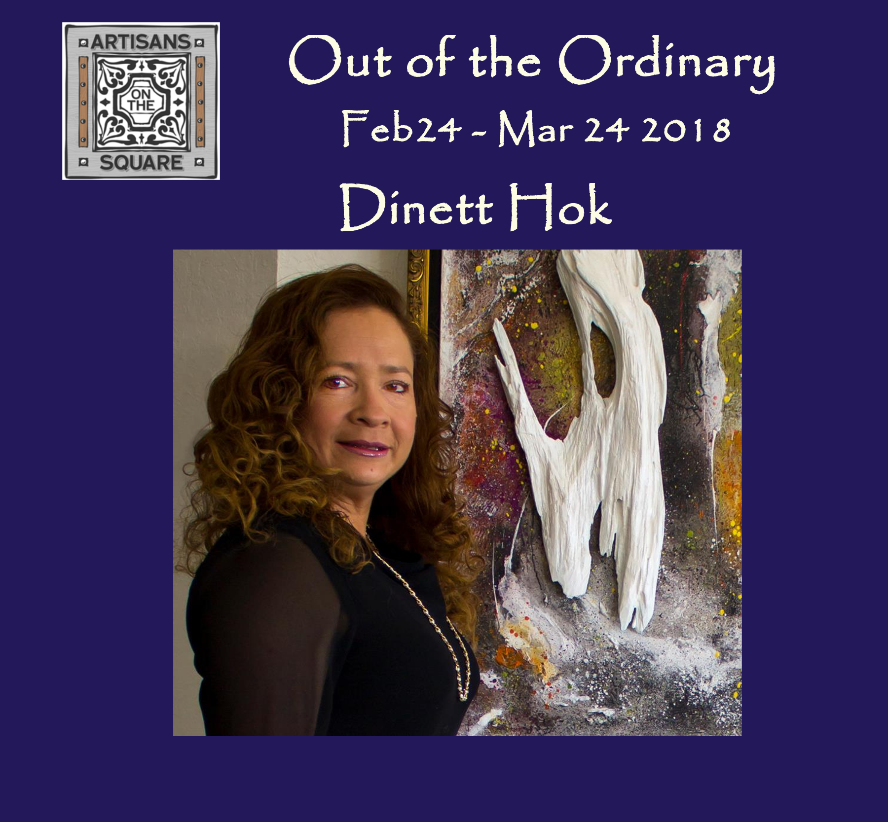 Out of the ordinary Dinett Hok