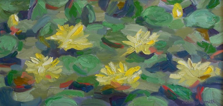 Larry Smith Lily ponds