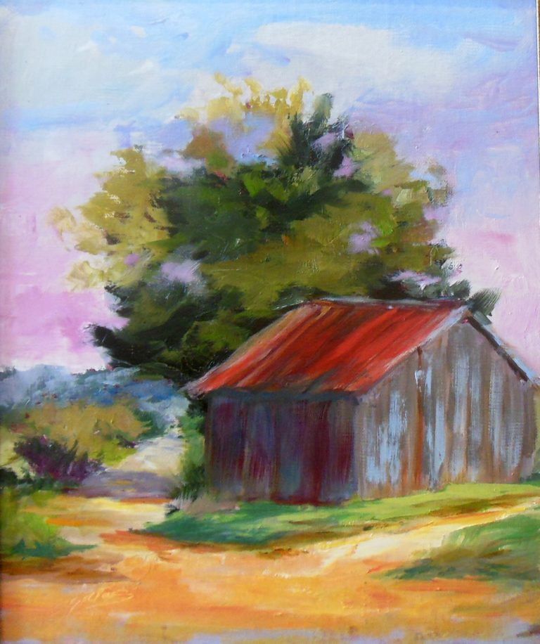 Sharon Gates Little barn in Gay GA