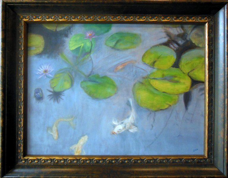 Susan Gadix Lily Pond