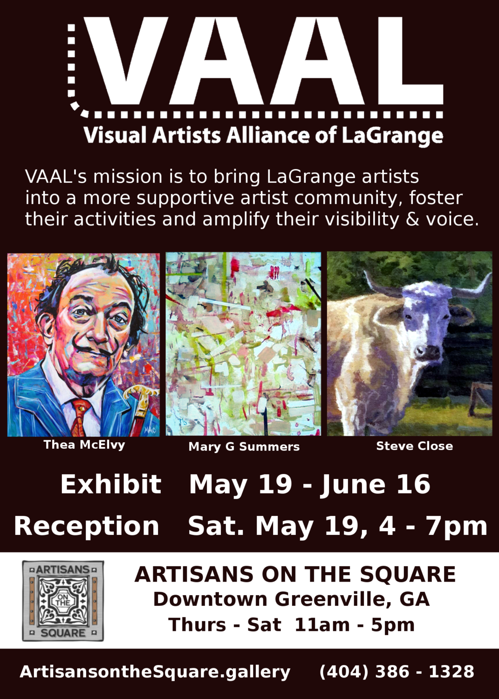 VAAL Exhibits in Greenville