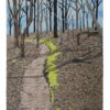 A walk in the woods 36x26 $1800