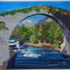 El Puente Romano_The Roman Bridge 25x31 $1600
