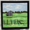 Grandpa's Farm 12x12 Framed $250