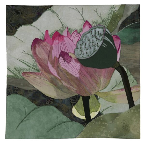 Lotus Bloom 14x14 $400