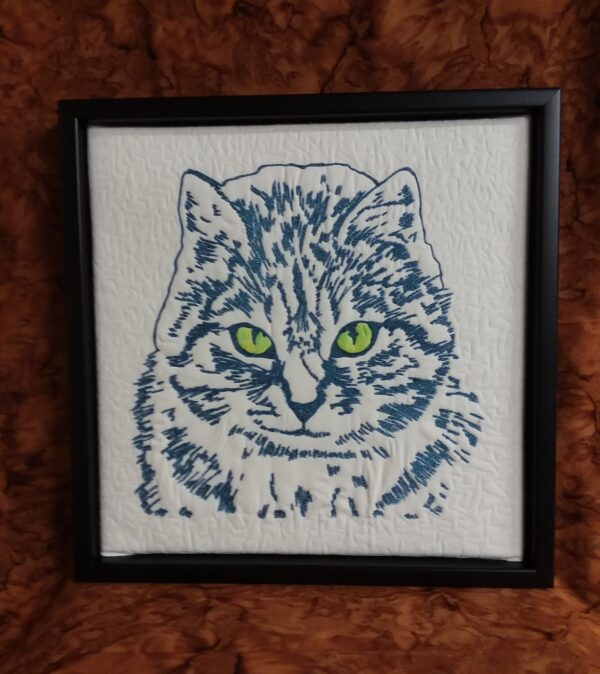 Queen of the House 12x12 Framed $250