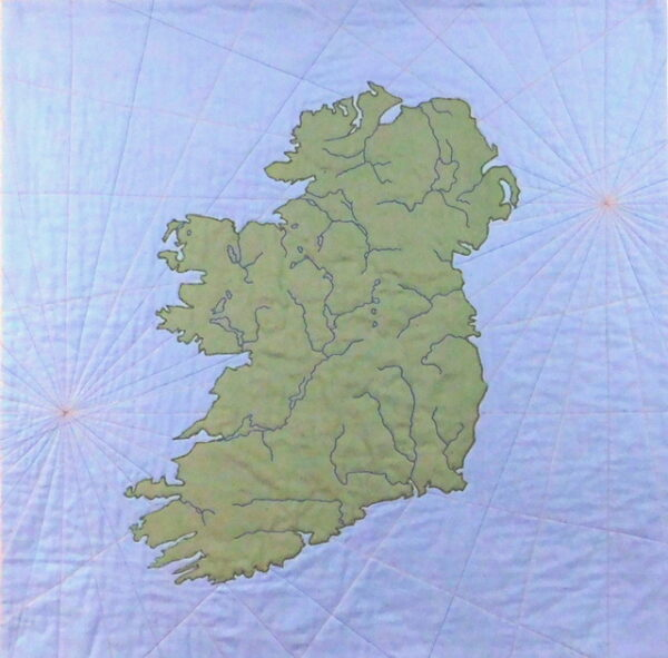 Rivers of Ireland 35x35 $800