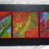 Trio 15x5 on canvas $95