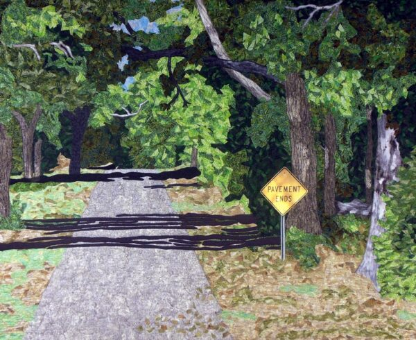 Where Pavement ends 25x30 $1500