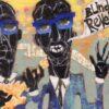 """Blind Blue Revelations – 12"""" x 24"""" , $250"""