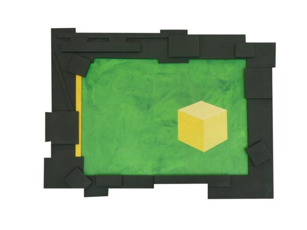Yellow Ball with Square Sides