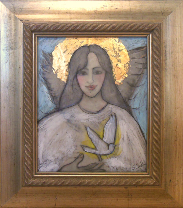 Peace Angel Framed