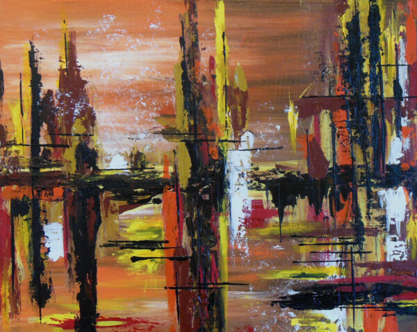 City Harbor by Janet McGregor Dunn