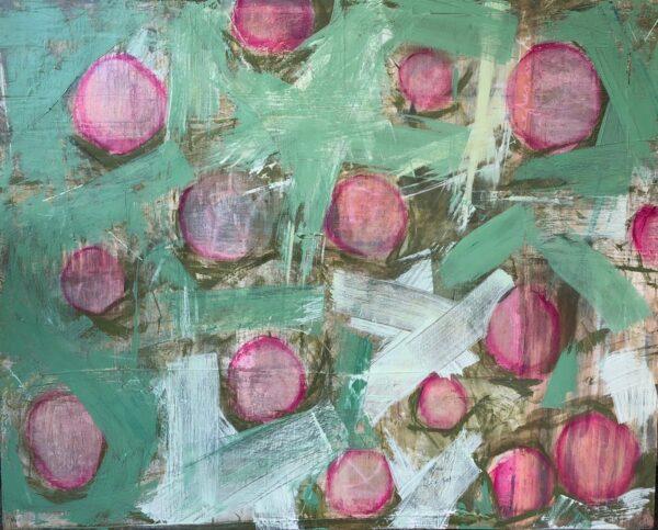 Flower Dots by Jane Whitehurst
