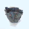 aqua teal sea bowl side