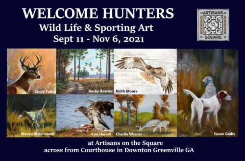 Wild Life and Sporting Art 2021 flyer Front