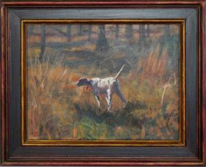 Dog on Point 3 by Steven Stinchcomb