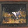 Dog on Point #4 by Steven Stinchcomb