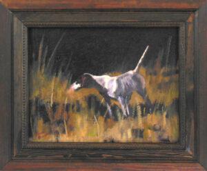 Dog on Point 4 by Steven Stinchcomb