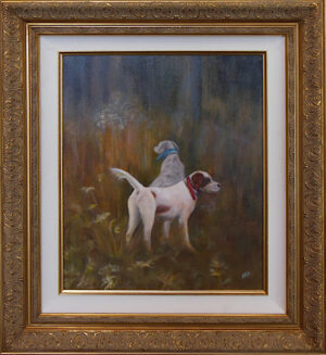 Hunting Duo by Susan Gadrix