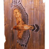 Keith Moore Soars with own wings Red Shoulder Hawk 38x53
