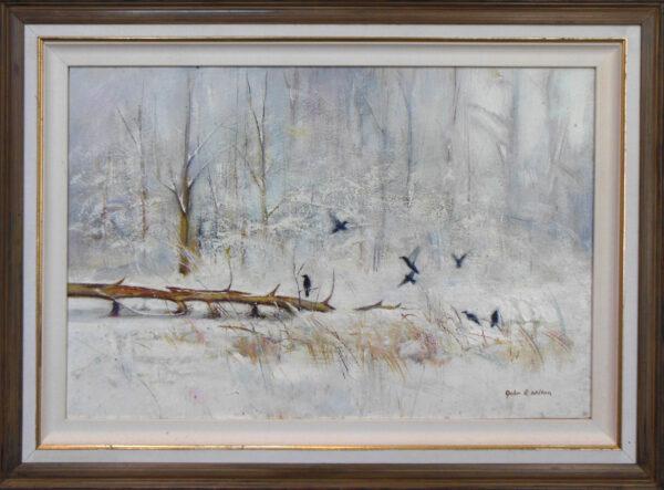 Late Snow by John Wilson