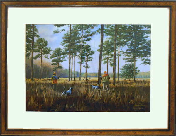 Pine Hill Framed by Bucky Bowles