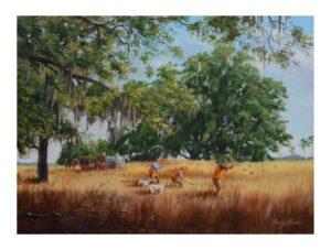 Plantation Quail Hunt by Bucky Bowles