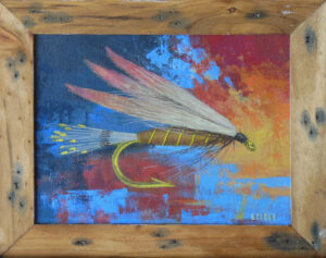 Winged Mayfly by Steve Close