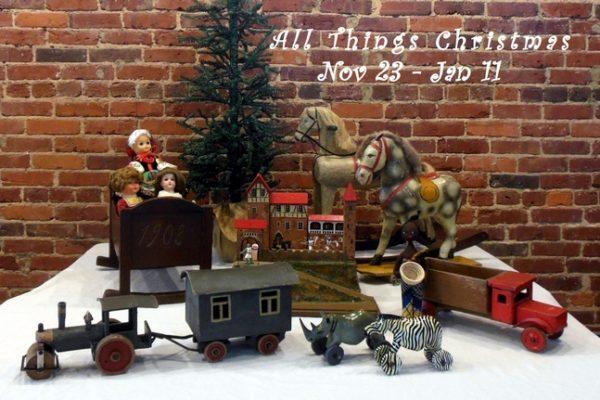 All Things Christmas Postcard